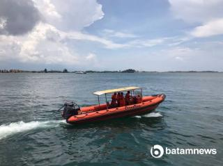 The Fishing Boat Was Run over by Cargo Ship in Batam Waters