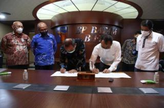 BP Batam and Lion Air Sign Addendum to MoU on Land Lease for MRO